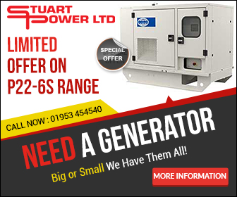 new and used FG Wilson generators for sale to the UK