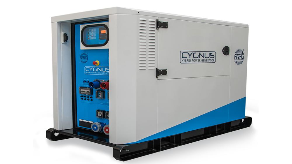 Hybrid power generators stuart power ltd for Geotech generatori