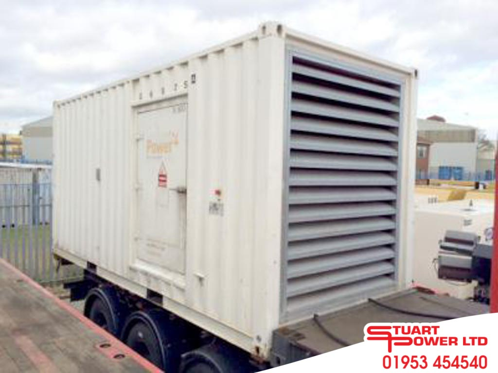 SDMO 770kVA Generator With ISO-Container for sale