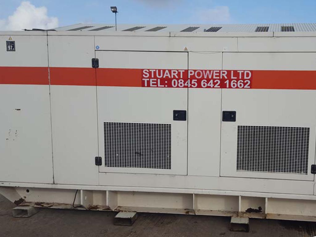 400kVA FG Wilson Generator With Close Fit Enclosure for sale