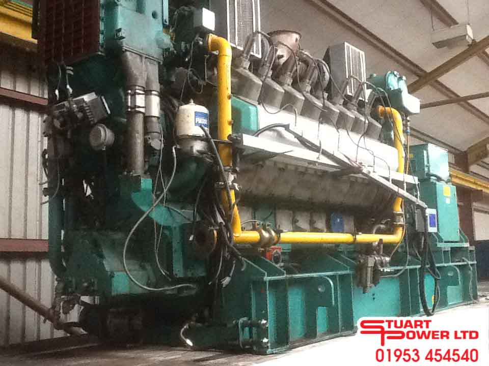1462kVa Cummins Gas Generator for sale