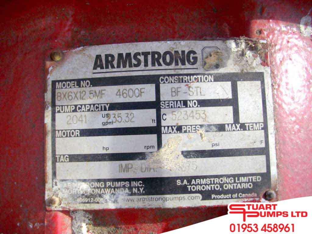 Armstrong 8x6x12MF