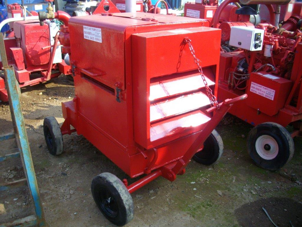 Godwin Dual Pump Temporary Fire Fighting System