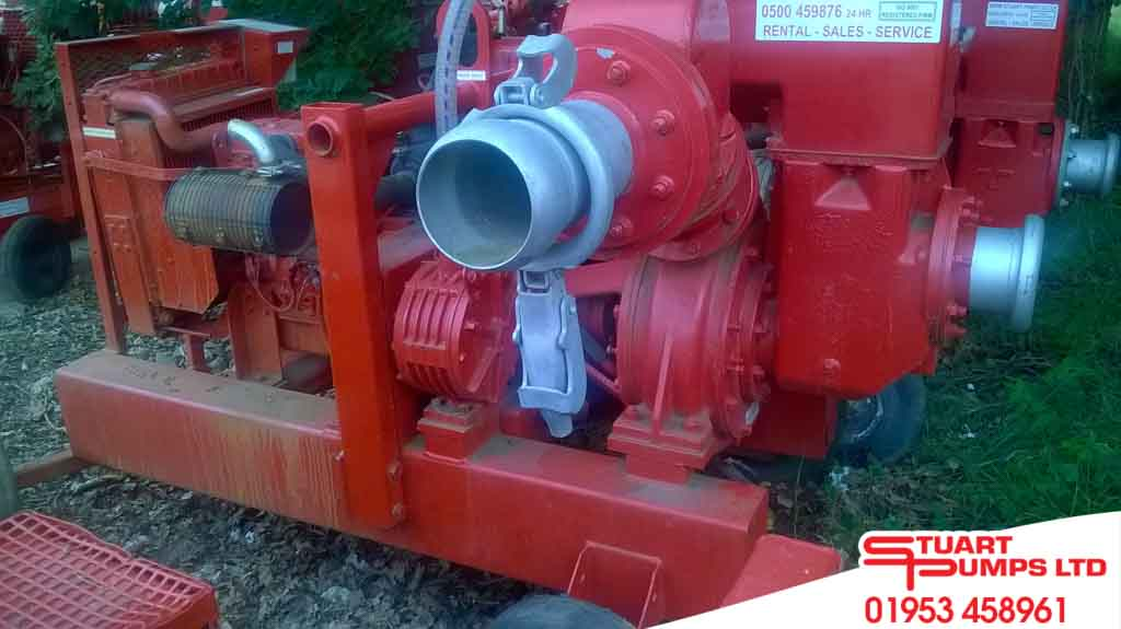 SPP AL150M End Suction Pump