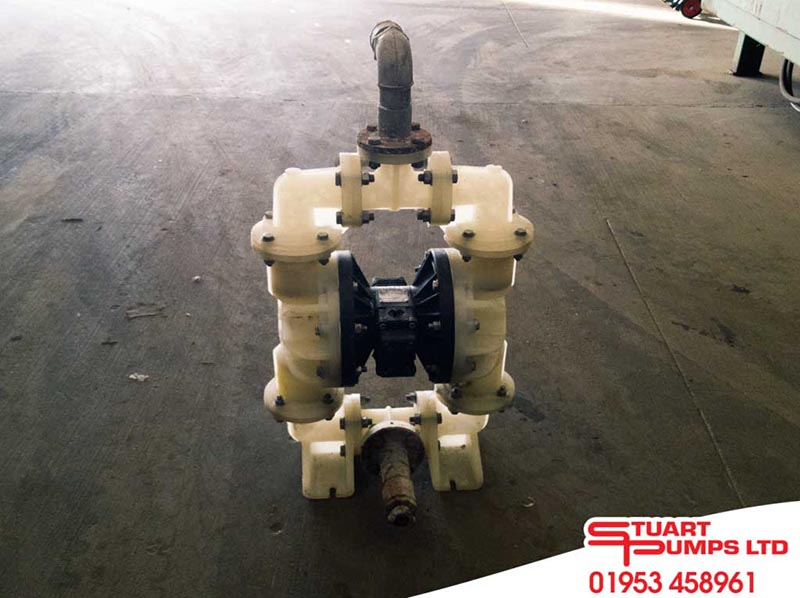 "Versamatic 2"" non-metallic XPSP094 non bolted Diaphragm Pump"