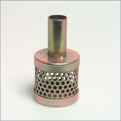 Tin Can Strainers with male hose tail