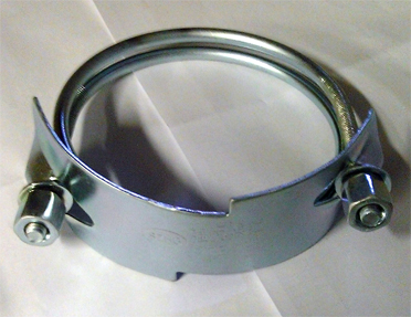 Steel PVC Pipe  Band Clamps