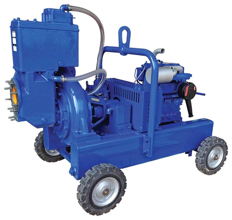 high performance diesel driven pump