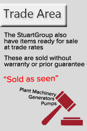 pre-owned water pumps generators for sale and ready to buy at trade rates
